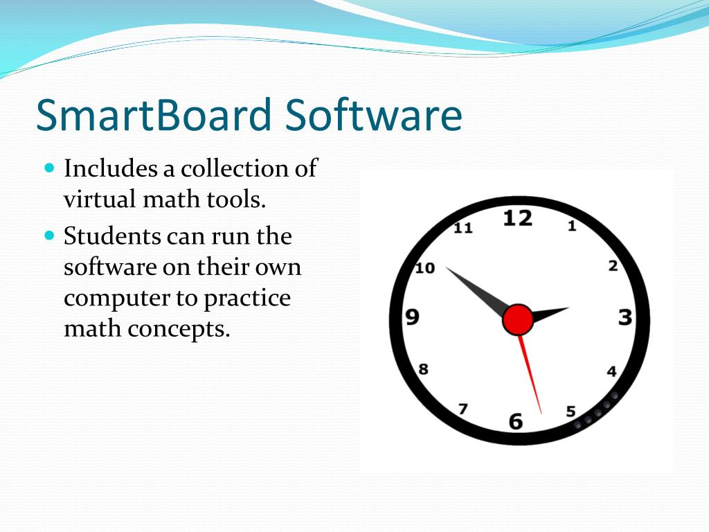 SmartBoard Software