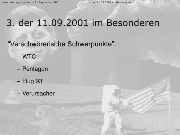 Verschwörungstheorien – 11.September 2001der 11.09.2001 im Besonderen