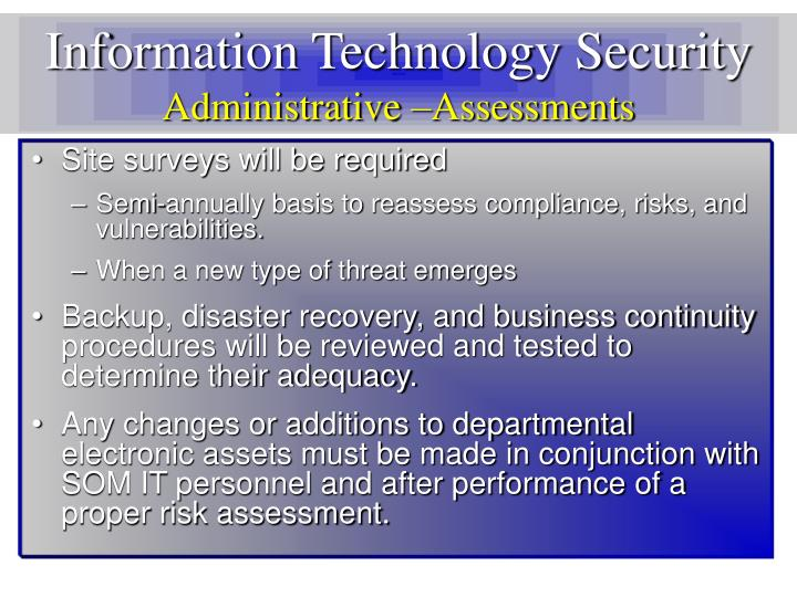 Information Technology Security