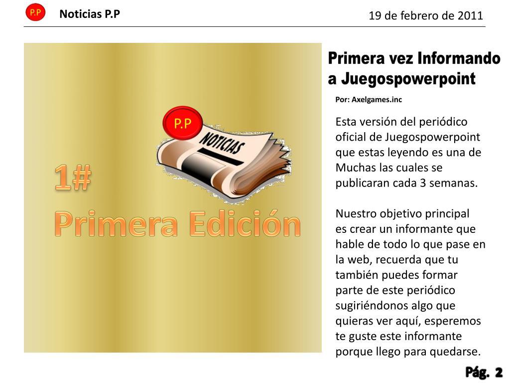 Noticias P.P