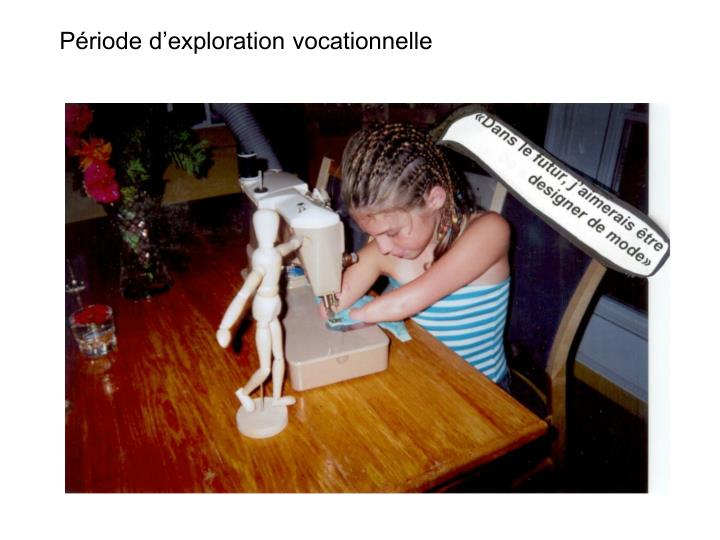 Période d'exploration vocationnelle