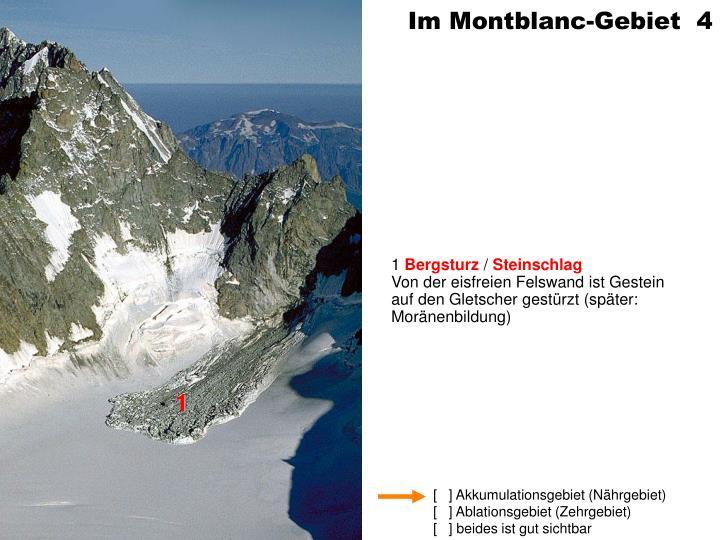 Im Montblanc-Gebiet  4