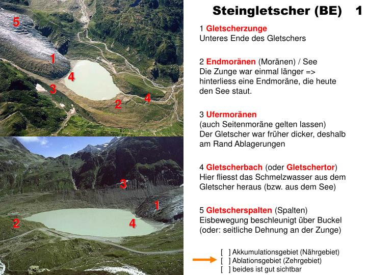 Steingletscher (BE) 1