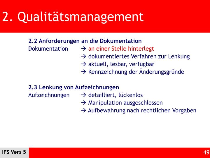 2. Qualitätsmanagement