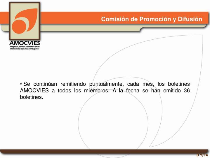 Comisión de Promoción y Difusión