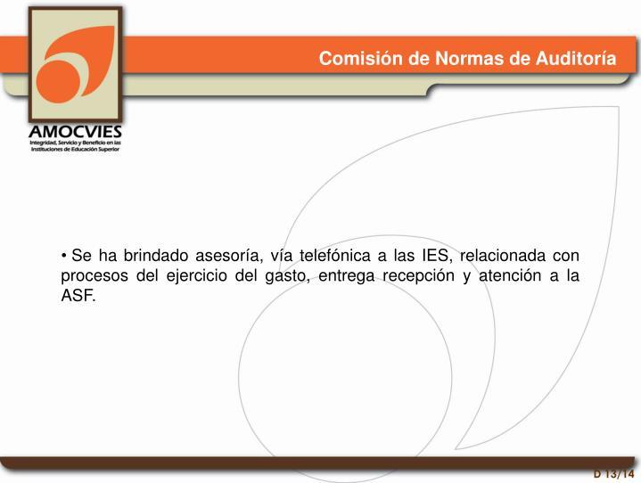 Comisión de Normas de Auditoría