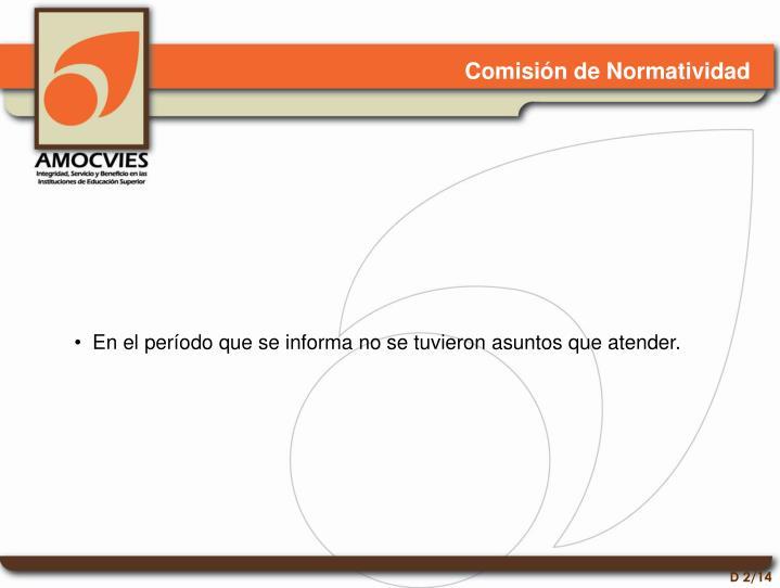 Comisión de Normatividad