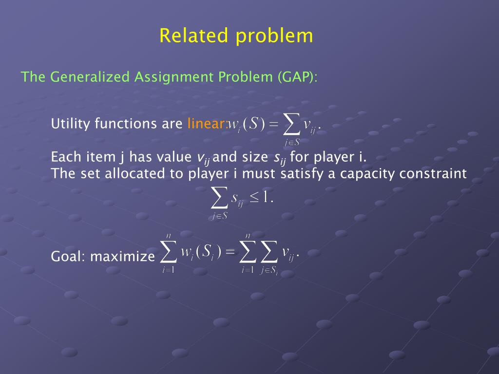 Related problem