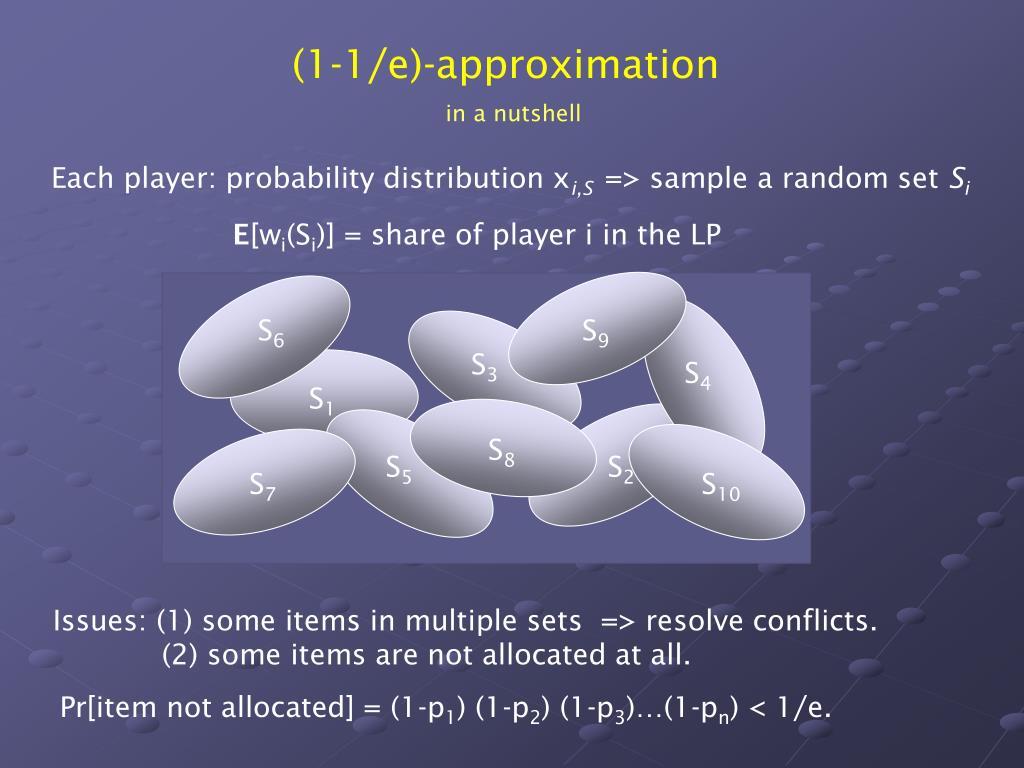 (1-1/e)-approximation
