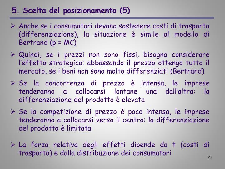 5. Scelta del posizionamento (5)