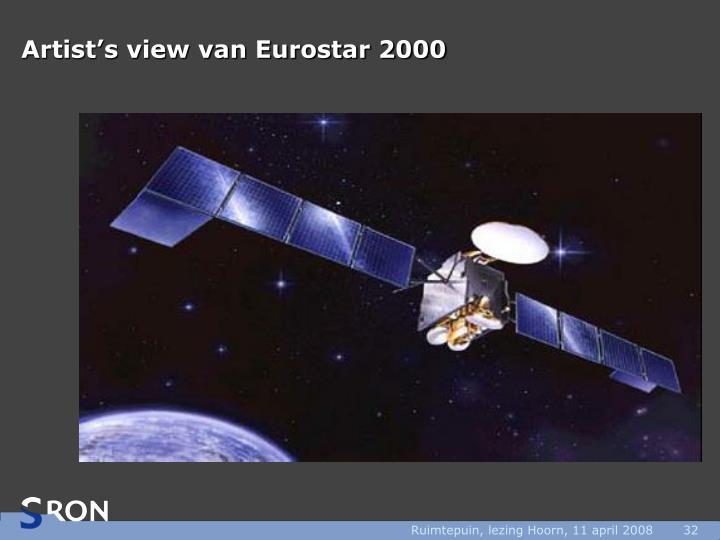 Artist's view van Eurostar 2000