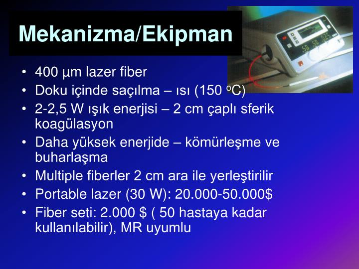 Mekanizma/Ekipman