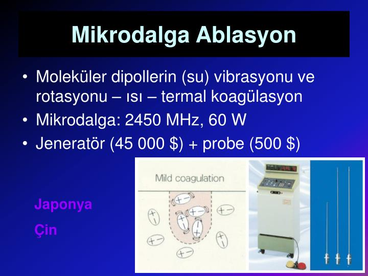 Mikrodalga Ablasyon