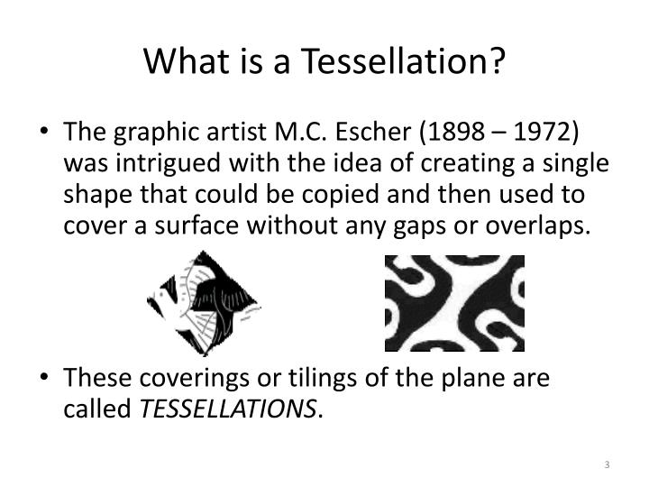 What is a tessellation3