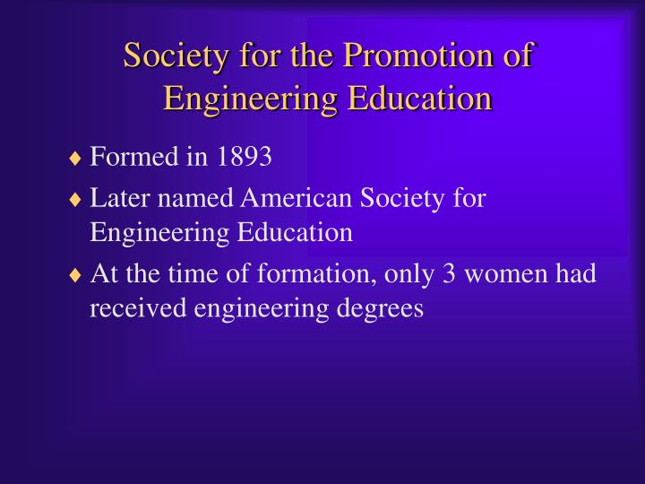 Society for the Promotion of Engineering Education