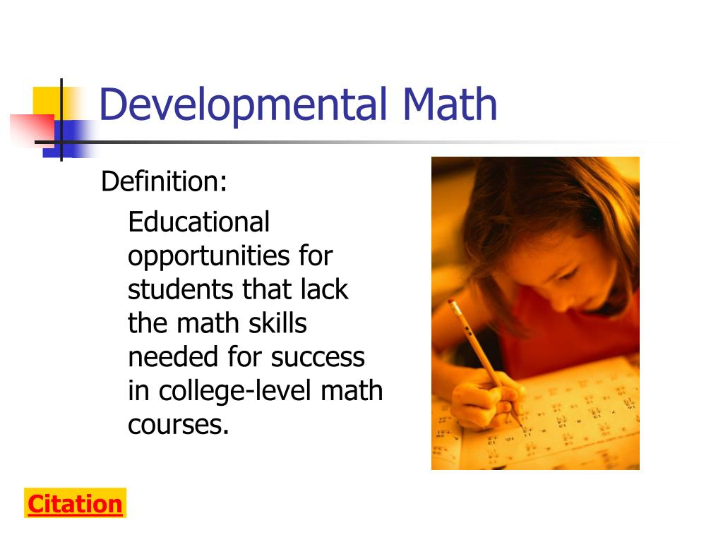Developmental Math