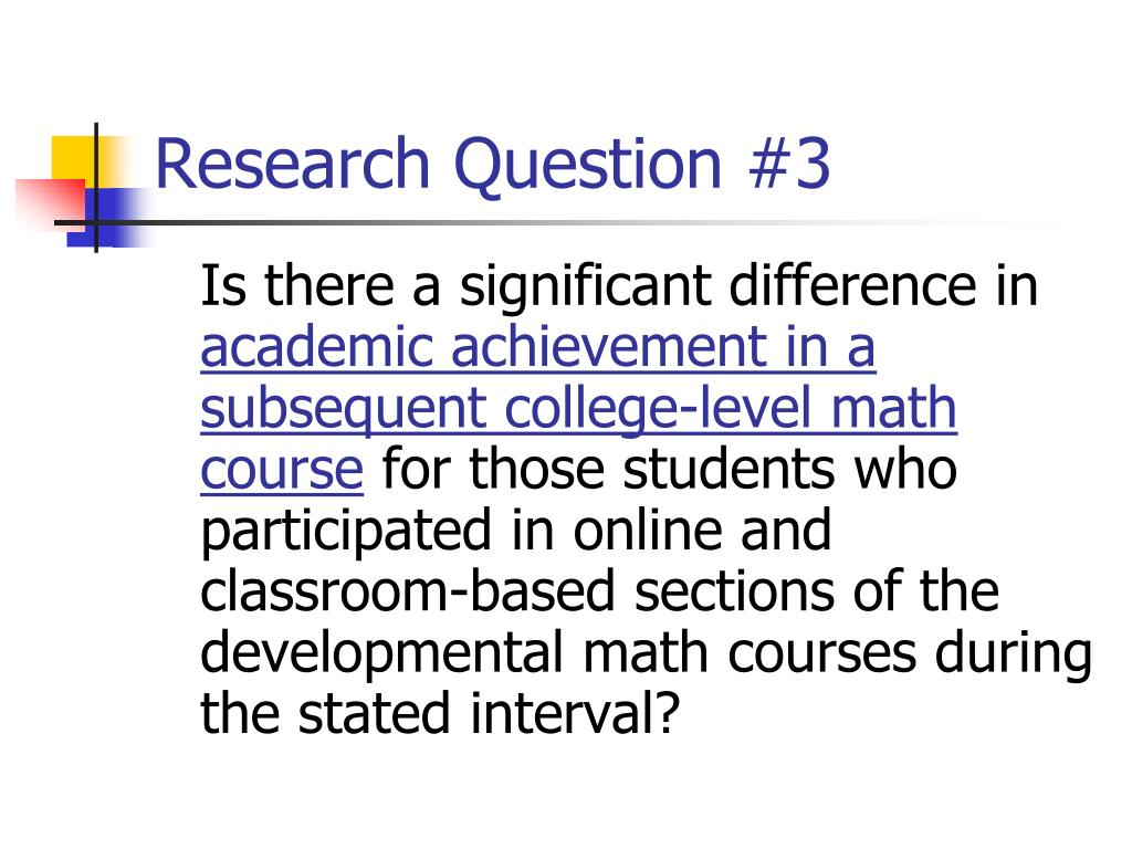 Research Question #3