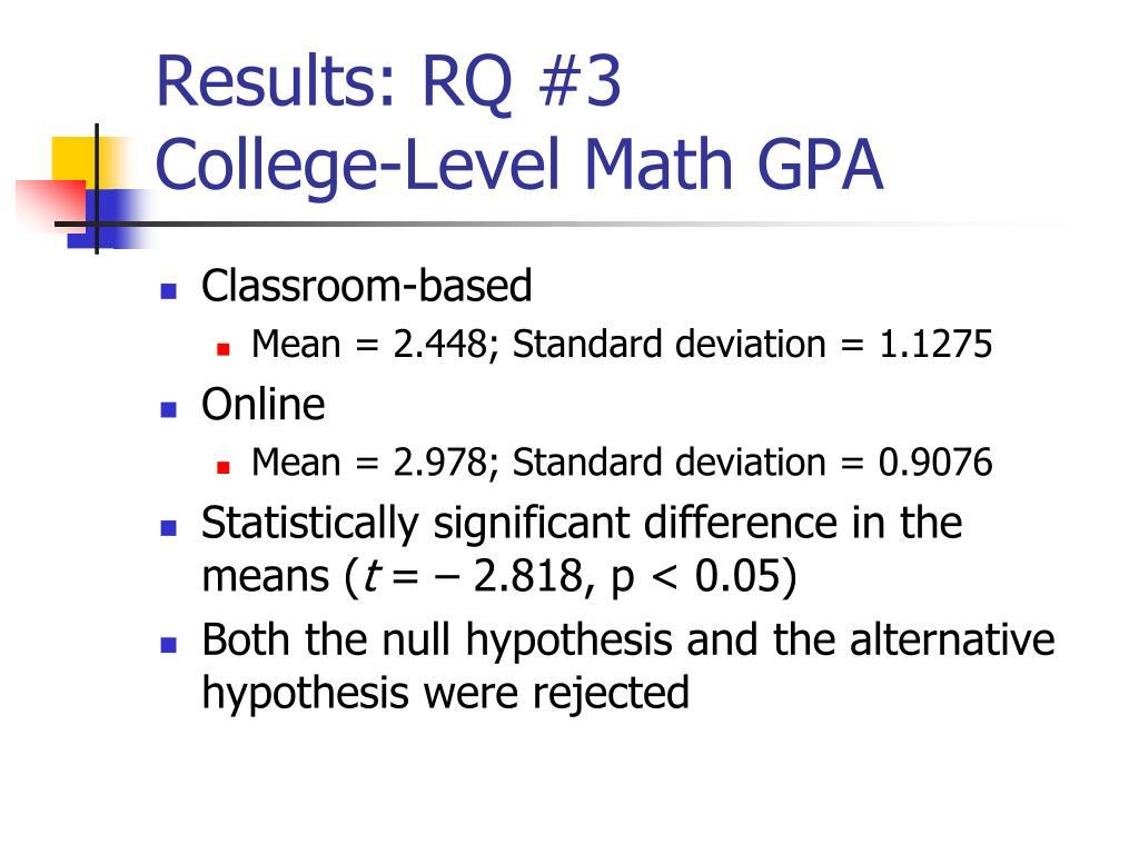 Results: RQ #3