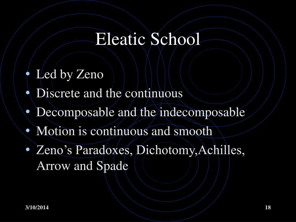 Eleatic School