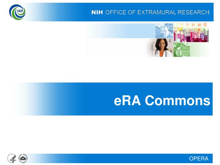 eRA Commons