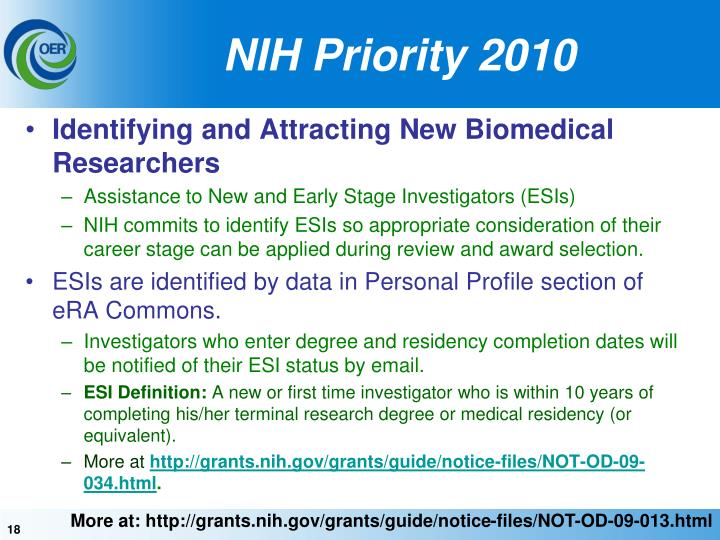Identifying and Attracting New Biomedical Researchers