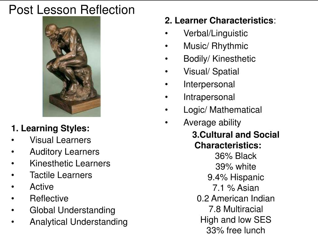 1. Learning Styles: