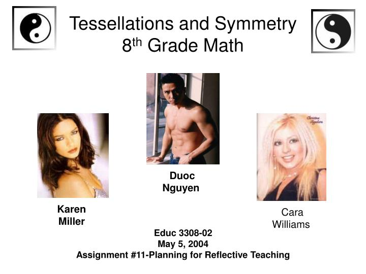 Tessellations and symmetry 8 th grade math l.jpg