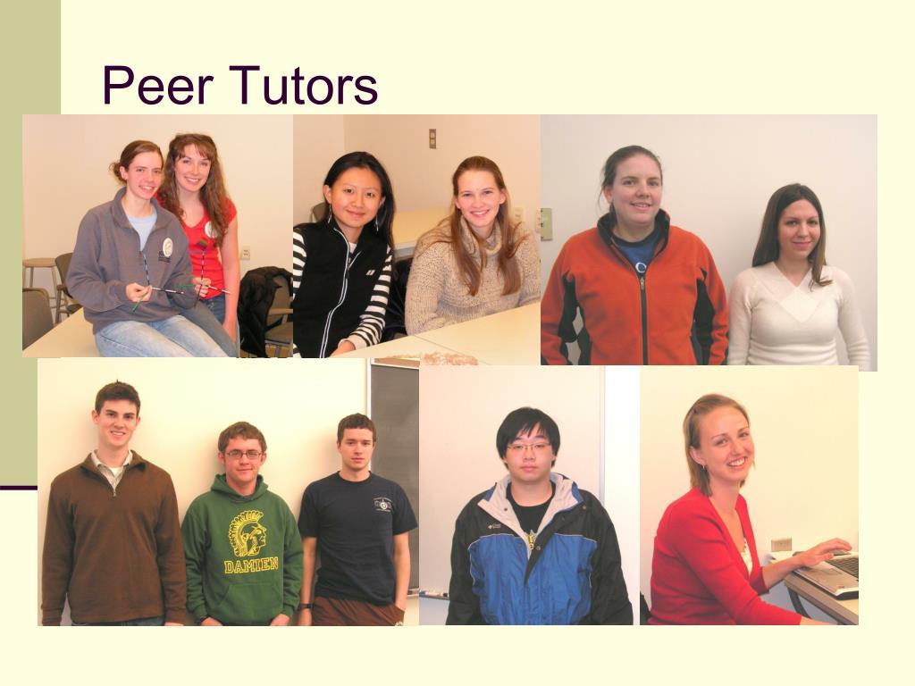 Peer Tutors