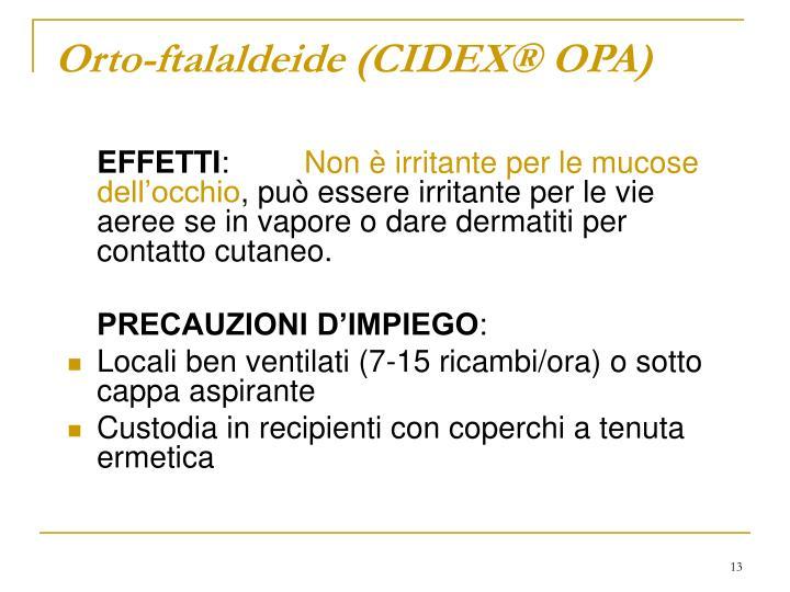 Orto-ftalaldeide (CIDEX