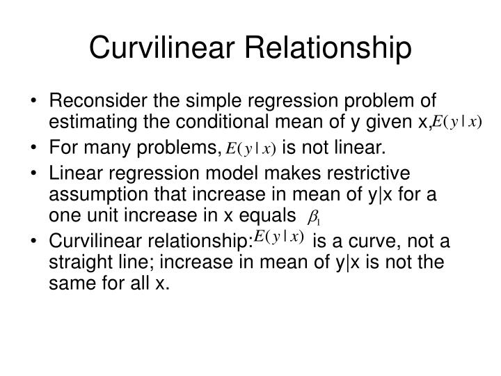 Curvilinear Relationship