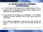 iii motivaciones de la reforma constitucional1