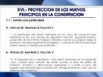 xvi proyeccion de los nuevos principios en la constitucion1