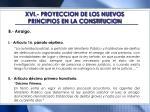 xvi proyeccion de los nuevos principios en la constitucion5