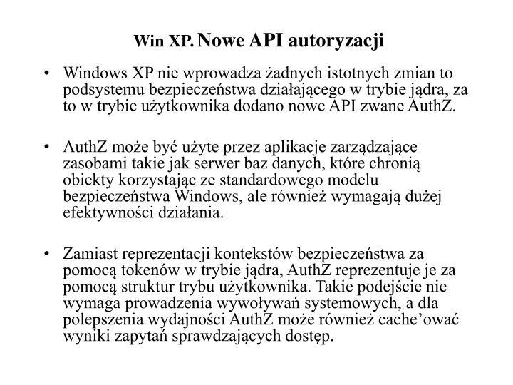 Win XP.