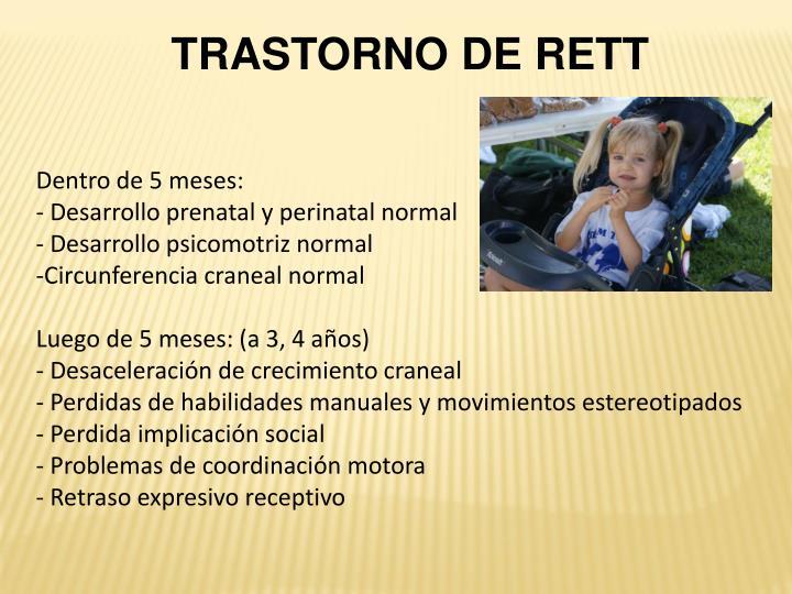 TRASTORNO DE RETT