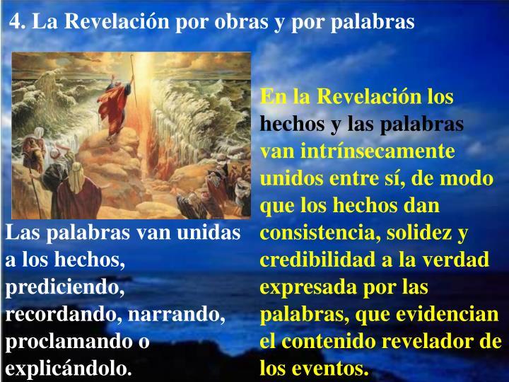 4. La Revelación por obras y por palabras