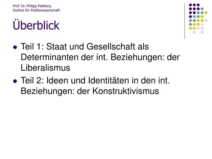 Prof. Dr. Philipp Pattberg