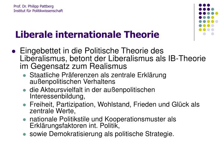 Liberale internationale theorie