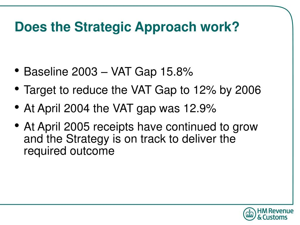 Does the Strategic Approach work?