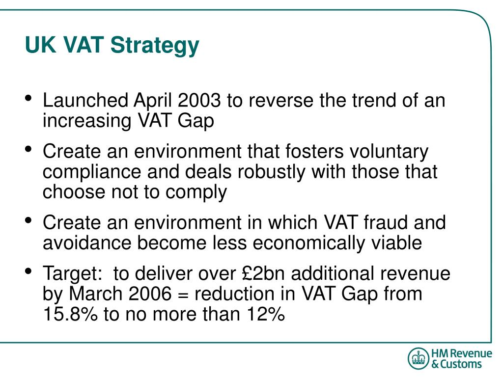 UK VAT Strategy