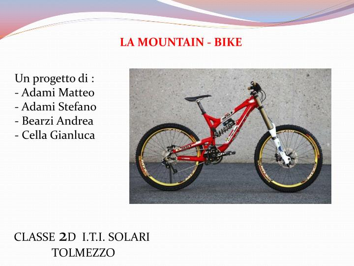 LA MOUNTAIN - BIKE