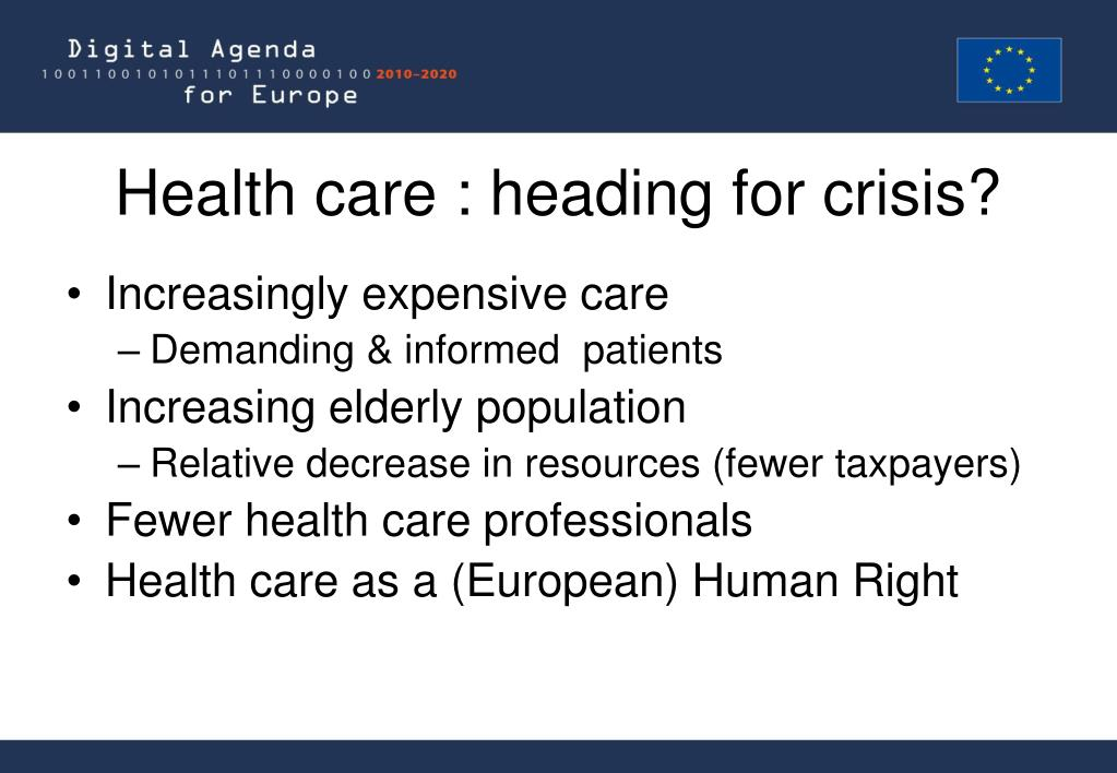 Health care : heading for crisis?