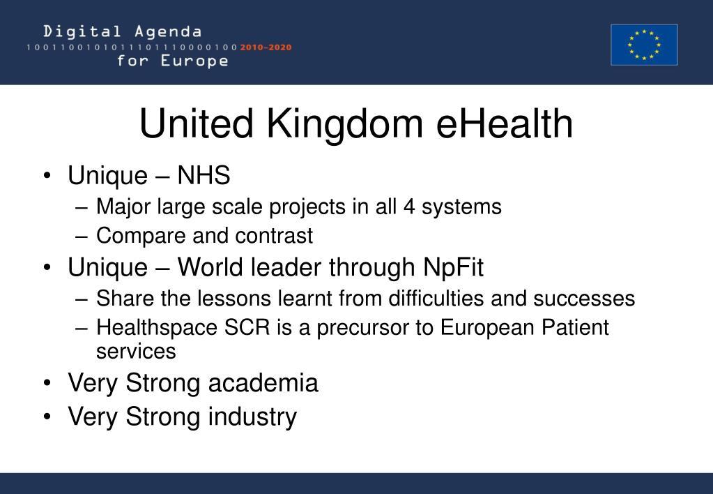United Kingdom eHealth