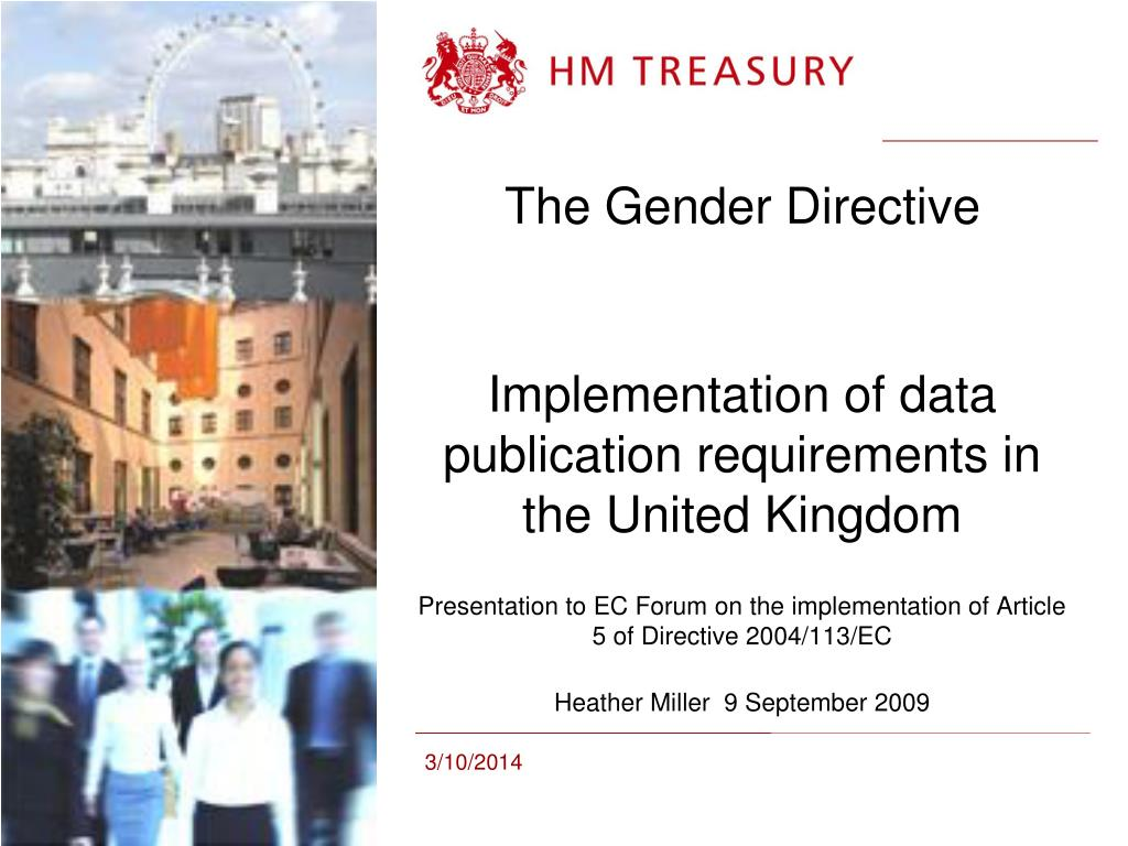 The Gender Directive