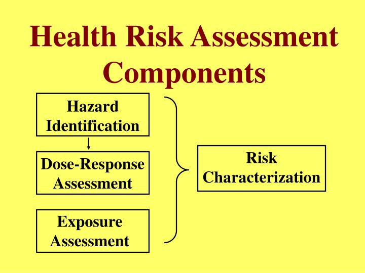 Health Risk Assessment Components