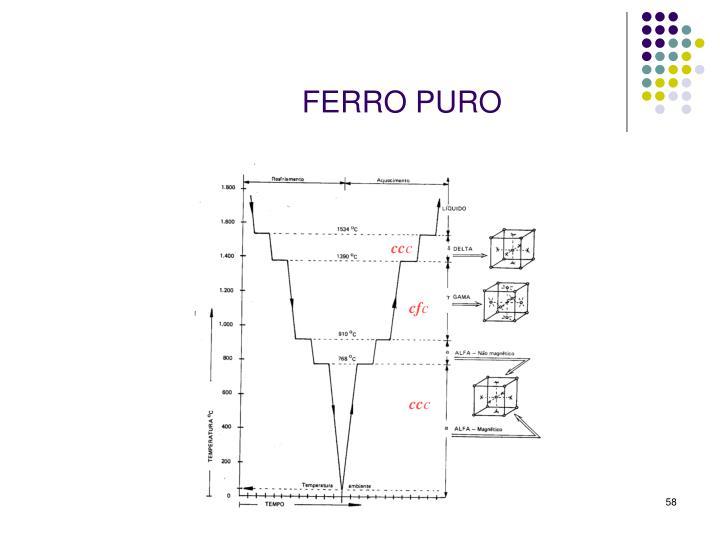 FERRO PURO