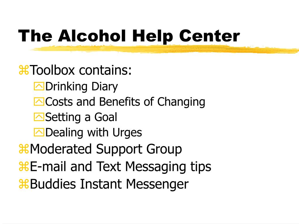 The Alcohol Help Center