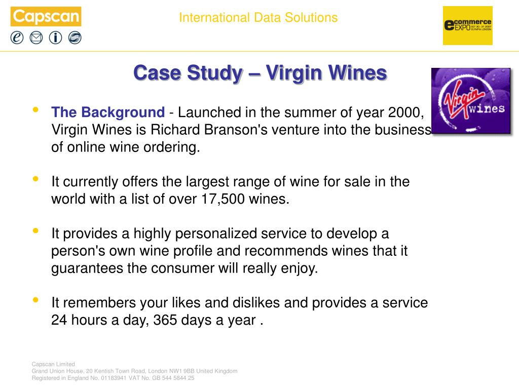 Case Study – Virgin Wines