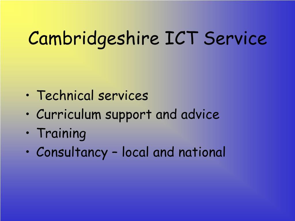 Cambridgeshire ICT Service