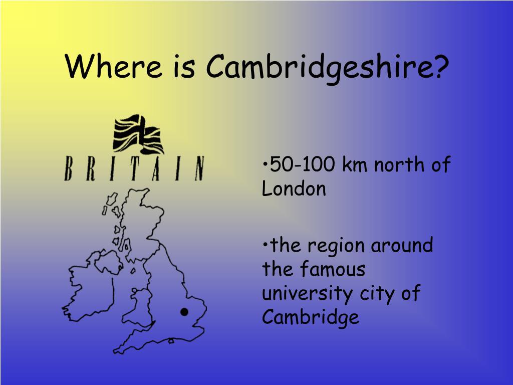 Where is Cambridgeshire?